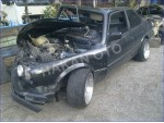 hasarlı bmw e30 M40 316i coupe
